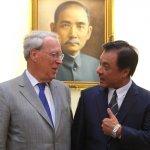 AIT主席薄瑞光卸任前最後訪台,將會見總統蔡英文