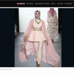 時尚界第一次》穆斯林女性頭巾登上紐約時裝周伸展台
