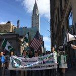 抗議中國打壓台灣 500台僑會師紐約 發動8年來最大入聯遊行