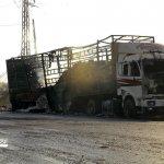 敘利亞停火瀕臨破局》聯合國人道救援車隊被炸 至少12名司機喪生