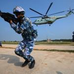 中俄海上聯合2016軍演南海秀肌肉 新華社詳細報導「聯合奪控島礁」