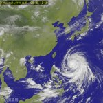中度颱風「梅姬」不斷增強 威脅台灣 最快周二27日登陸