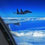 中國空軍赴西太平洋上空演練 日本防衛省:中國戰鬥機首次通過宮古海峽上空