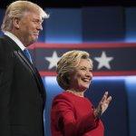 美國總統候選人辯論》兩黨王牌初次交鋒 希拉蕊表現更獲觀眾青睞