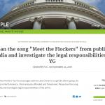 黑人饒舌歌曲疑「煽動搶劫華人」 美國華人向白宮請願禁播