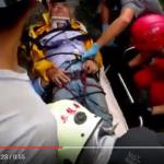苗栗台電搶修員墜坡,3輕重傷