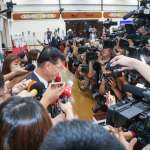 立法院維安禁止媒體進出大禮堂採訪 藍營、時力立委不滿