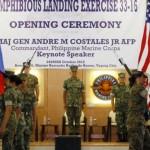 菲律賓與美國在馬尼拉舉行兩棲登陸軍演 菲國總統杜特蒂:任內最後一次