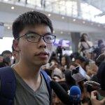 黃之鋒獲釋返港 泰媒證實:是中國政府要求泰國拒黃入境
