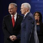 美國副總統候選人辯論》共和黨彭斯態度從容獲好評 可能角逐2020總統大位