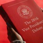美國總統大選電視辯論 兩黨總統副手正面交鋒《風傳媒》即時報導