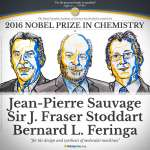 2016諾貝爾化學獎得主》 從分子打造微小機器 科幻電影情節成為可能