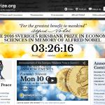 2016諾貝爾經濟學獎今揭曉 趣味數字報你知