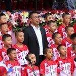 雙十國慶棒球風揭序幕 陳金鋒率少棒隊領唱國歌