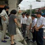 葉俊榮赴大埔拜會彭秀春 承諾明年底前重建張藥房