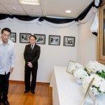 泰王蒲美蓬病逝 蔡英文赴泰國辦事處弔唁