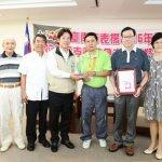程銘志帕運桌球奪銀 賴清德表揚贈「台南之光」獎牌