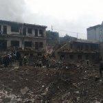 宛如遭到空襲....陝西發生爆炸14死147傷 現場炸出直徑4公尺大坑