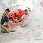 世界設計之都》體驗手作設計樂趣,用二手塑膠袋創造異想空間