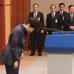 青瓦台三度鞠躬道歉已成往事 朴槿惠全面否認國會彈劾理由