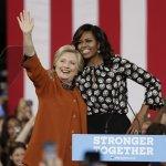 2016美國總統大選》第一夫人蜜雪兒領軍 超級助選員站出來