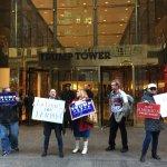 2016美國總統大選》風傳媒直擊紐約川普競選總部 川粉護主:你還敢相信媒體嗎?