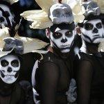 【圖輯】《007:惡魔四伏》啟發 墨西哥城首度舉辦「死者日節」遊行