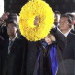 洪秀柱拜謁南京中山陵 群眾夾道高呼「三民主義統一中國」