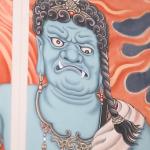 藏身古都台南民宅中的佛畫大師:生宣紙上的宗教藝術能否完工一切靠緣分