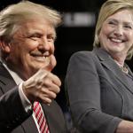 2016美國總統大選》選前封關全國民調 希拉蕊4個百分點些微領先 川普力圖在關鍵搖擺州翻盤