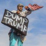 【圖輯】他不是我的總統!全美各大城「反川普」行動風起雲湧 紐約萬人癱瘓第五大道