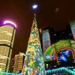 全國面積最大 3D 光雕投影 台灣也有世界級耶誕派對