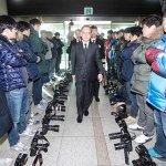 日韓簽署軍事協定不對媒體公開 韓攝影記者集體拒拍抗議