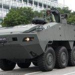 星國防部避談台灣 不知裝甲車為何在港上岸