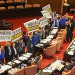 國民黨要求林全赴立院報告興航危機,遭民進黨人數優勢封殺