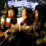 南韓150萬人冒雪包圍青瓦台 要求總統下台 朴槿惠舉步艱難 本周將是政局分水嶺