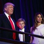 指川普最小兒子疑有自閉症 美國女星推文引爭議