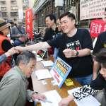 「拒絕核災食品公投」鎖定傳統市場 郝龍斌:國民黨「要錢沒有、要命一條」
