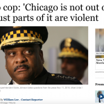 芝加哥已成犯罪之城?今年已711人死於兇殺 芝城警長:僅「部分地區」有問題