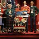 英國王室蠟像為慈善換上聖誕裝 萌萌柯基犬超級搶鏡