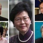 香港特首選舉新格局:五位熱門人選