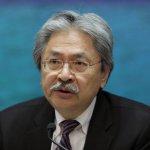 香港特首選戰:財政司司長曾俊華辭職 可能凖備參選