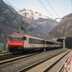 全球最長隧道完成最終測試 17分鐘即可穿越阿爾卑斯山心臟地帶