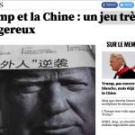 法媒談川普與中國:中美關係不平衡 世界恐遭受池魚之殃