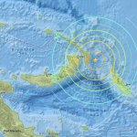 太平洋島國巴布亞紐幾內亞外海強震 附近地區恐遭海嘯侵襲