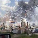 300噸爆竹大爆炸!墨西哥最大爆竹市場爆炸釀31死、72傷