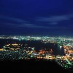 被法國人譽為米其林三星的景點!到北海道一定要搭纜車上來看看的函館山夜景