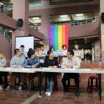 「我在東吳,支持婚姻平權」東吳學生為愛發聲