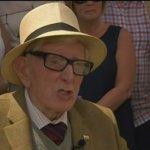 英國為二戰中被隆美爾拯救的士兵舉行葬禮