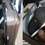 移民身藏行李箱偷渡 西班牙警方公布照片